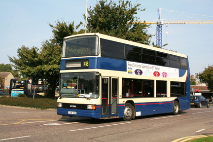 Stagecoach in the Fens T128AUA
